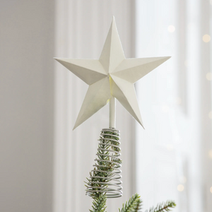 White Star Tree Topper