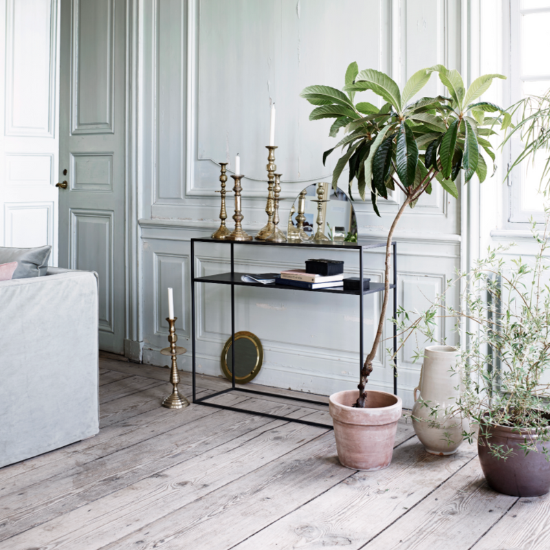 Phantom Iron Console Table