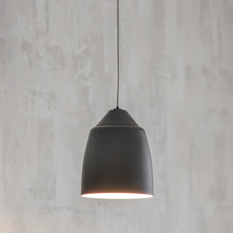 Matt Black Bathroom Pendant