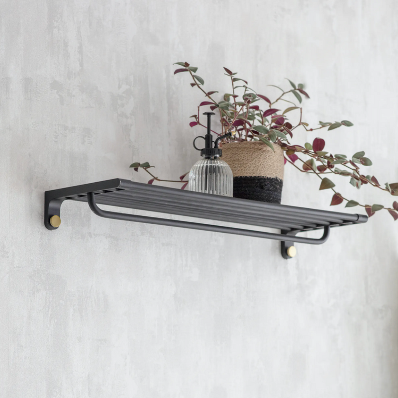 Black Steel Shelf