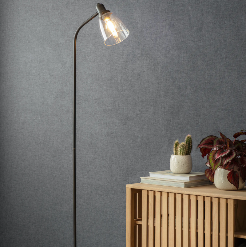 Glass Hoxton Floor Lamp