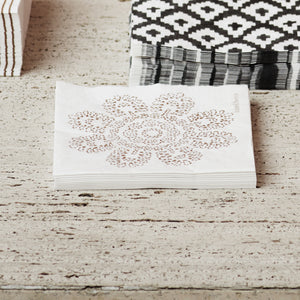 Honey Lotus Paper Napkins | Design Vintage
