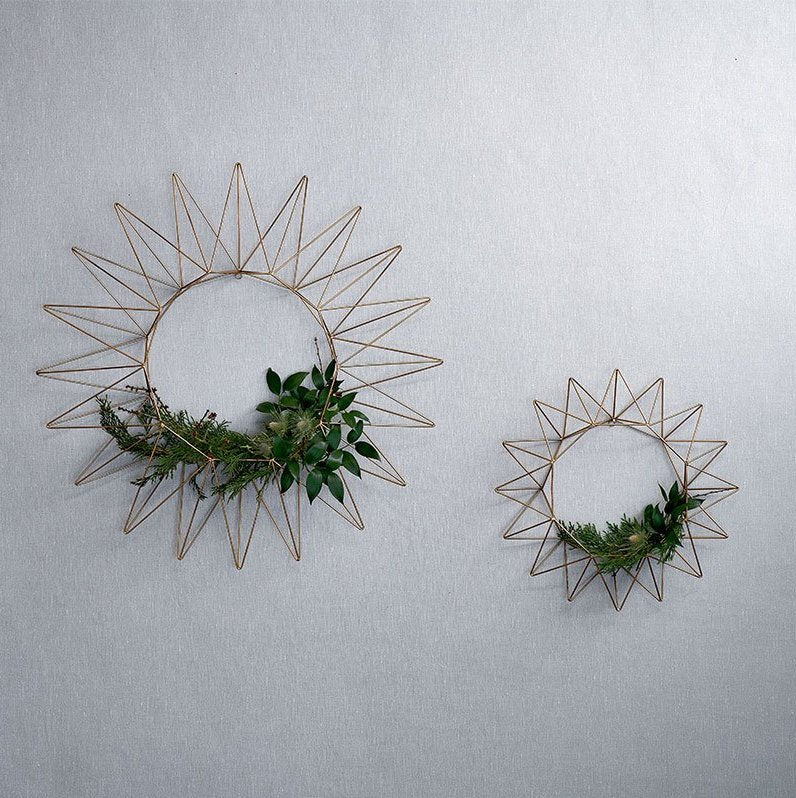 Talini Brass Wreath | Design Vintage