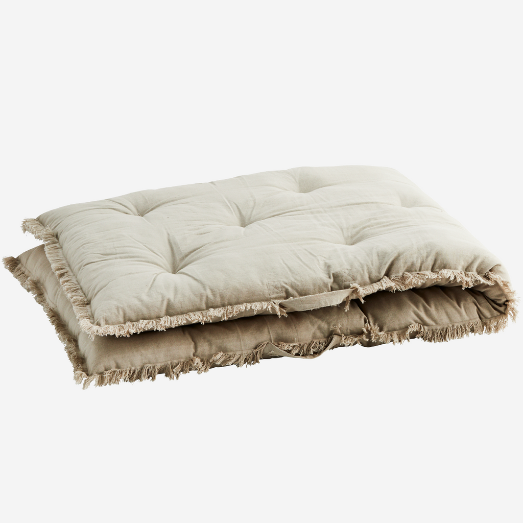 Taupe Mattress Cushion | Design Vintage