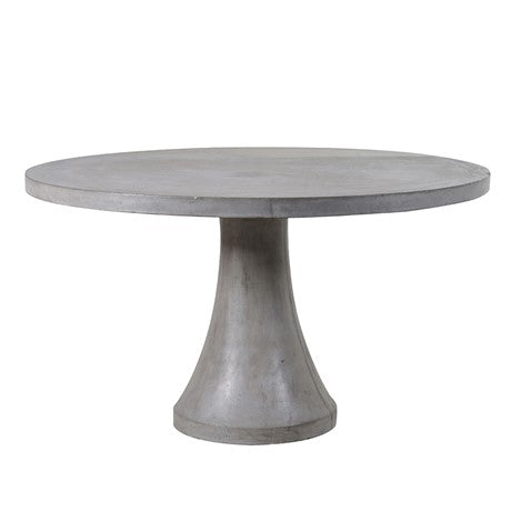 Round Concrete Dining Table | Design Vintage