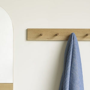 Oak Coat Rack