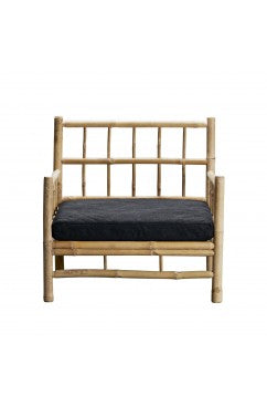 Ella Bamboo Sofa With Cushion | Design Vintage