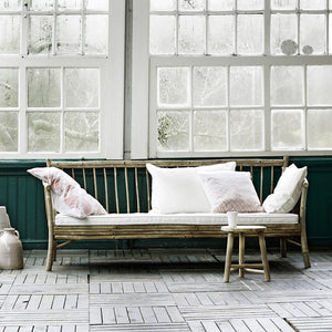 Bamboo Sofa With Cushion | Design Vintage