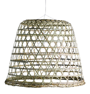 XXL Woven Basket Lampshade | Design Vintage