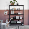 Black Mango + Iron Trolley | Design Vintage