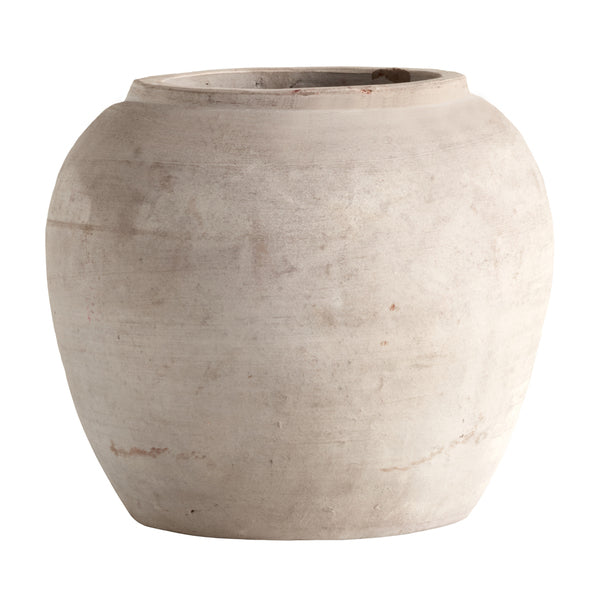 Round Clay Jar | Design Vintage