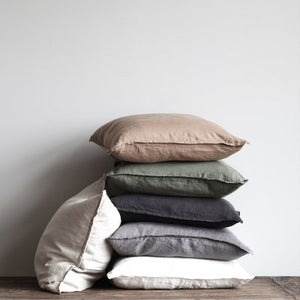 Chestnut Linen Cushion