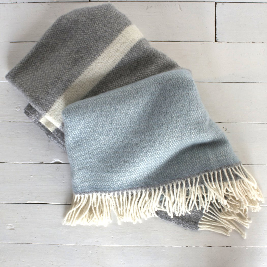 Large Lambswool Throw