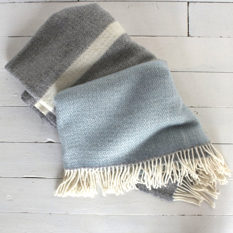 Large Lambswool Throw | Design Vintage