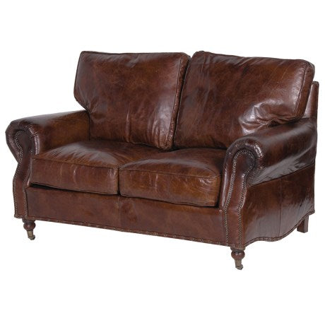 Elegant Leather Sofa | Design Vintage