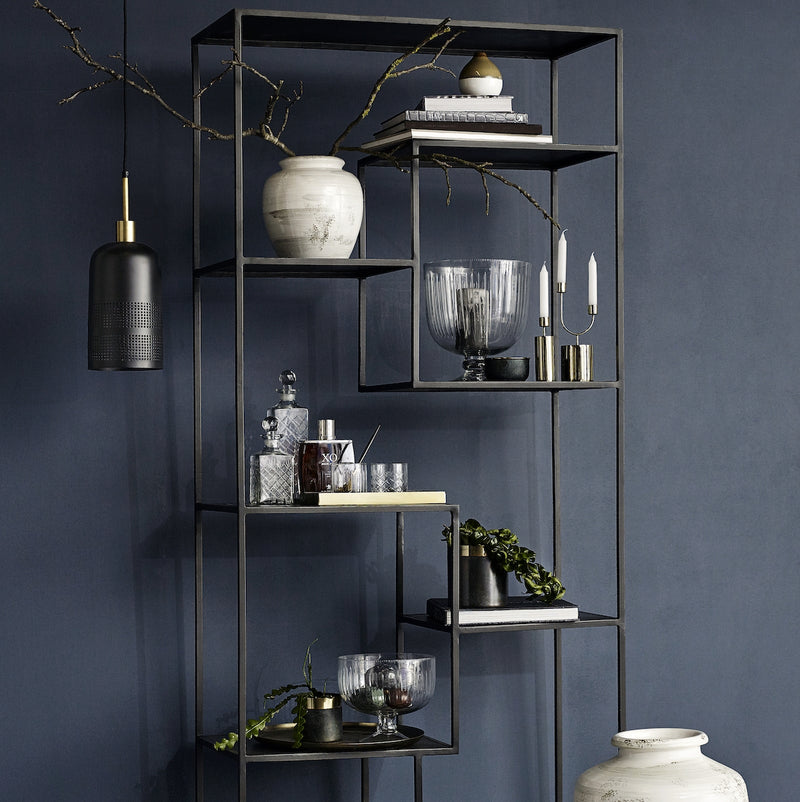 Tall Iron Display Unit | Design Vintage
