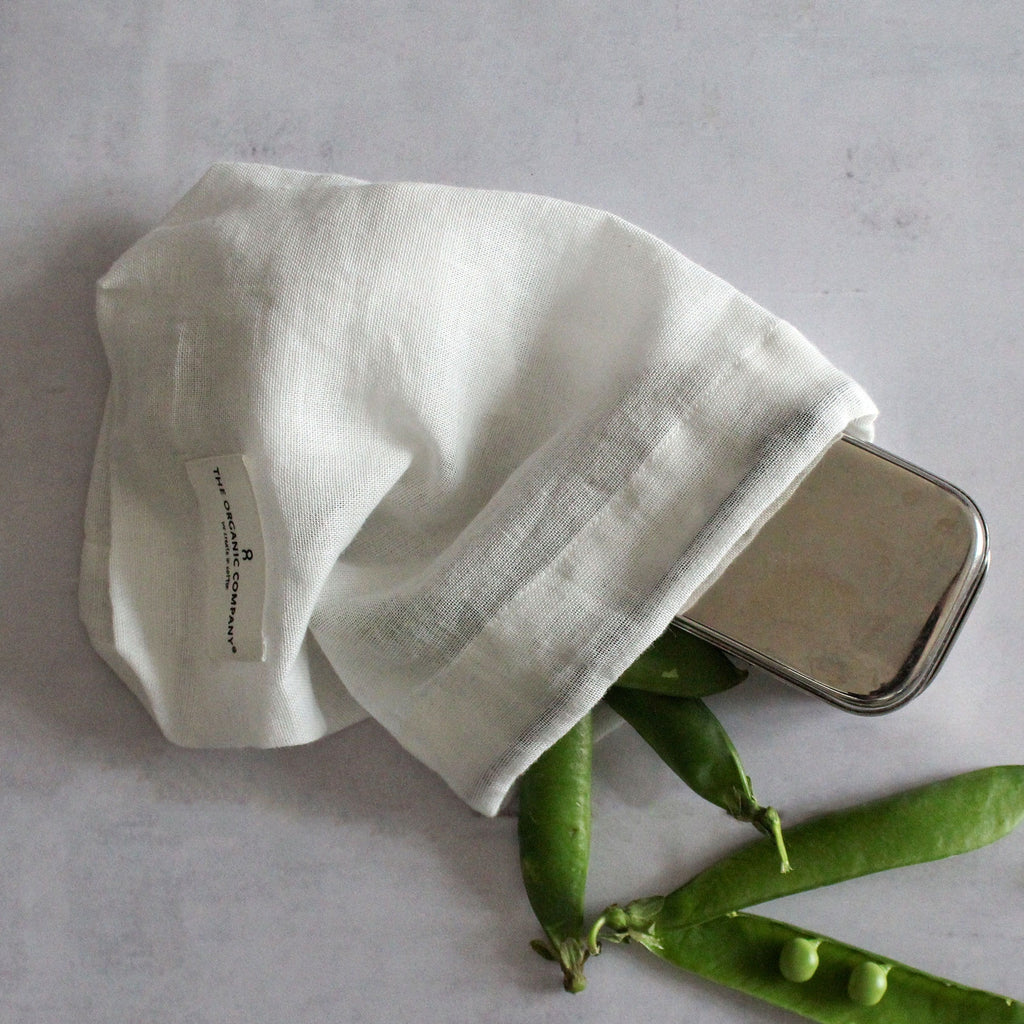 Organic Cotton Food Bag