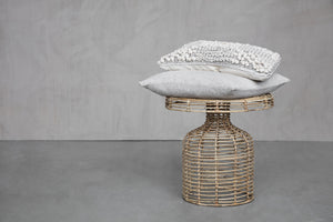Rattan Side Table | Design Vintage