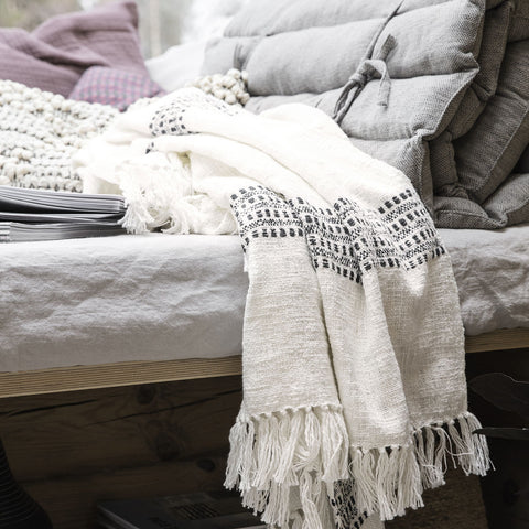 Kolonia Cotton Throw | Design Vintage