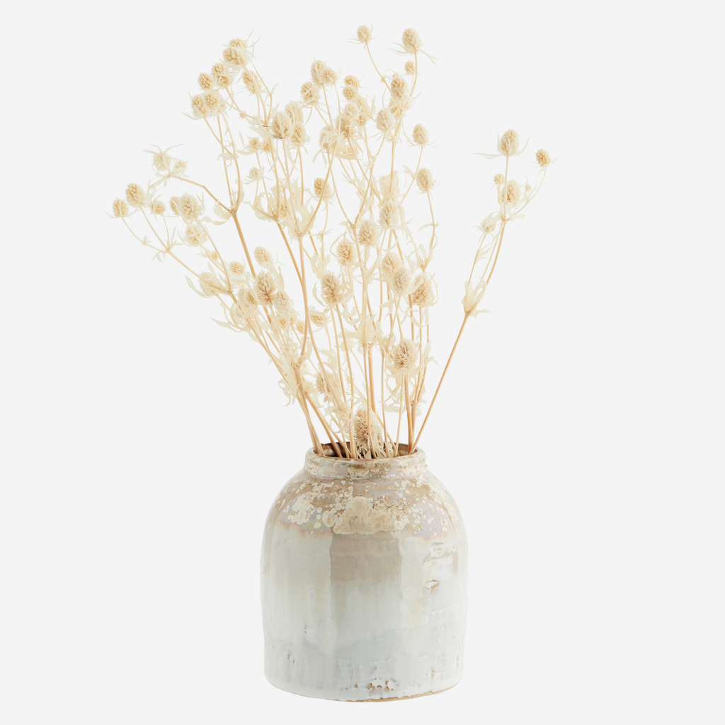 Honey Stoneware Vase