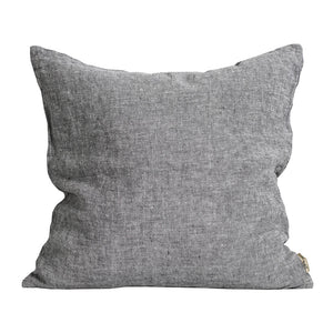 Julian Grey Linen Cushion | Design Vintage
