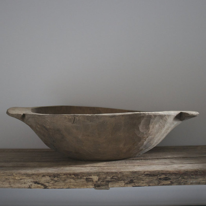 Medium Vintage Dough Bowl | Design Vintage