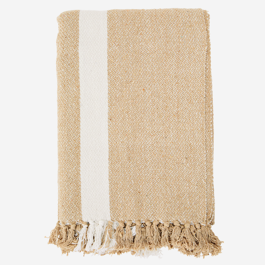 Ellie Recycled Cotton Throw