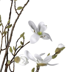 Faux White Magnolia Tree