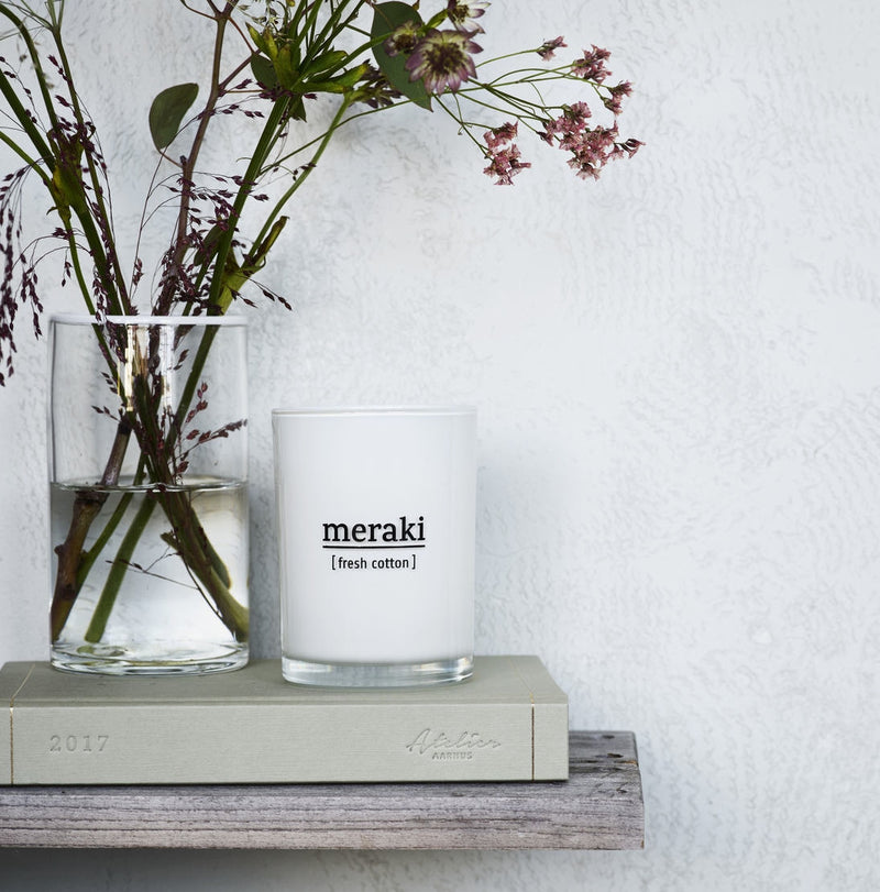 Meraki Cotton Candle