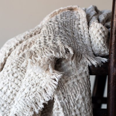 Monti Cotton Linen Throw