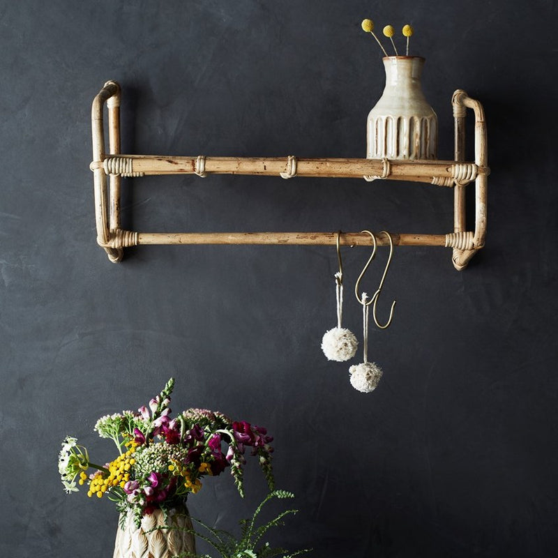 Bamboo Hanging Shelf