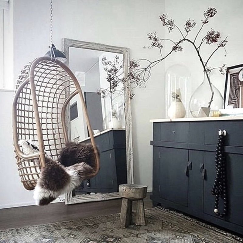 Natural Rattan Hanging Chair | Design Vintage