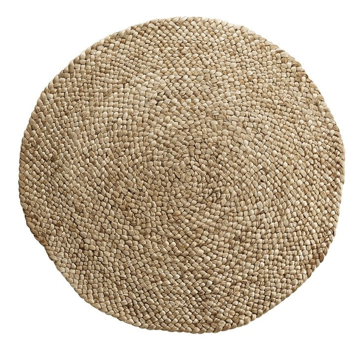 Natural Hemp & Jute Round Rugs | Design Vintage