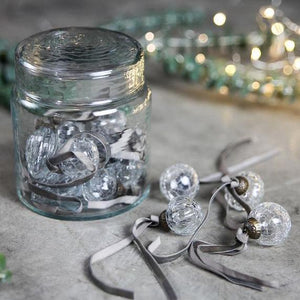 Adisa Jar of Glass Baubles