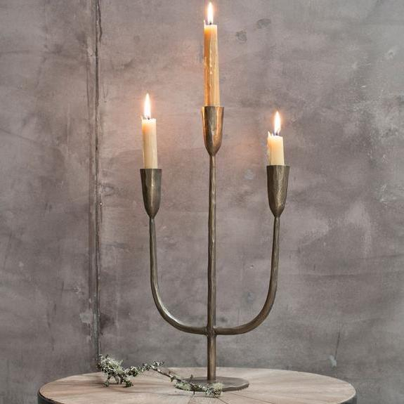 Antique Brass Candelabra | Design Vintage