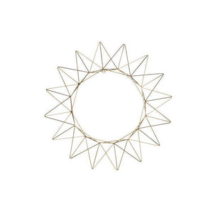 Talini Brass Wreath