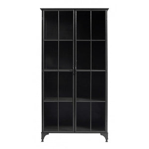 Black Iron Double Cabinet