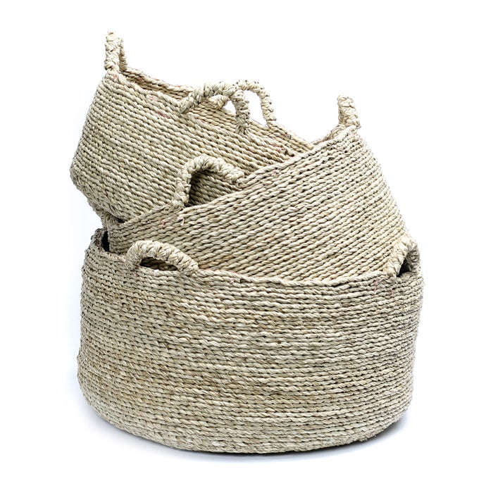 Multi Handle Crafted Baskets