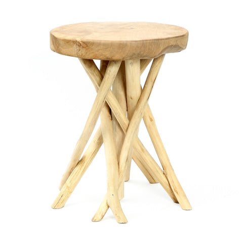 Tulum Teak Side Table | Design Vintage