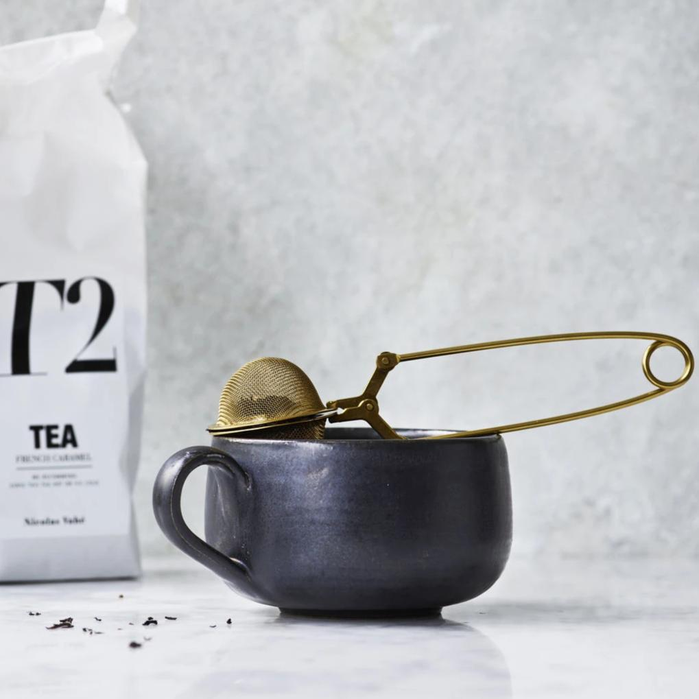 Gold Mesh Tea Infuser | Design Vintage