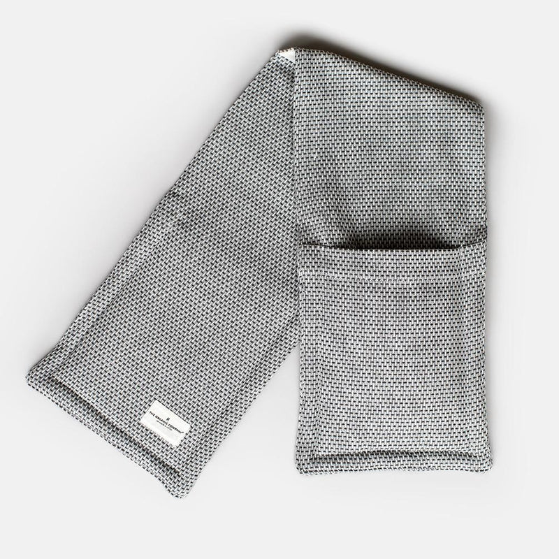 Grey Organic Oven Gloves
