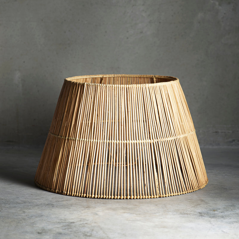 Extra Large Rattan Lampshade | Design Vintage