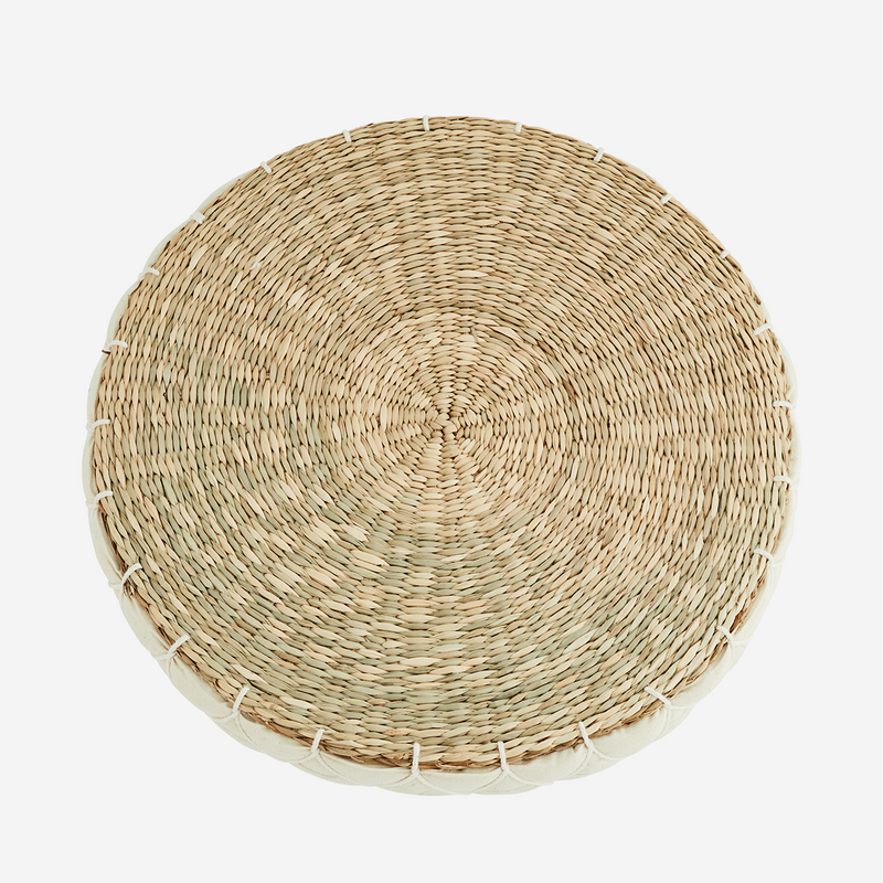Round Seagrass Pad