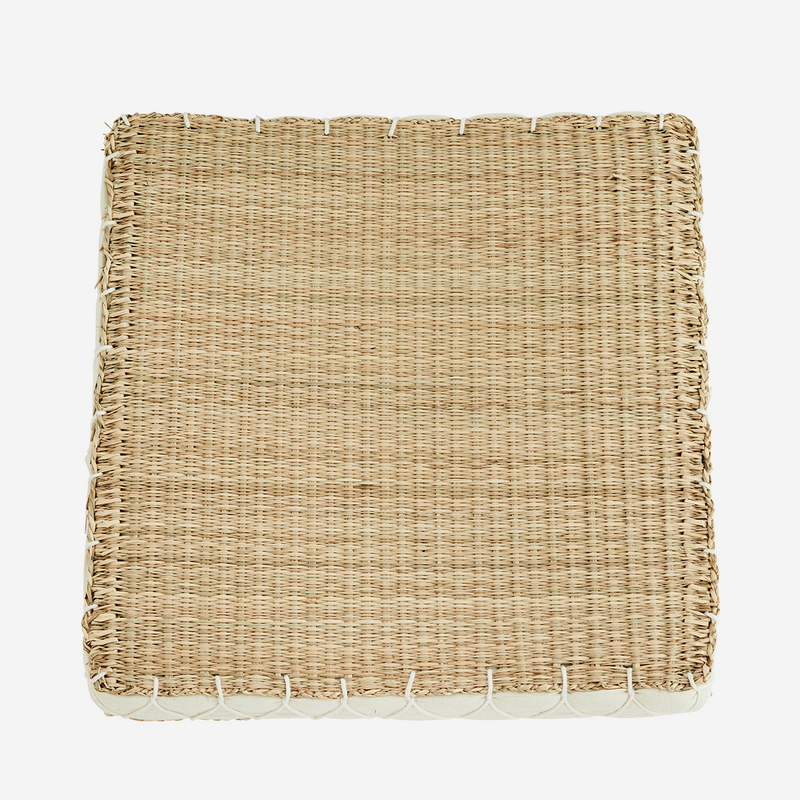 Seagrass Chair Pad | Design Vintage