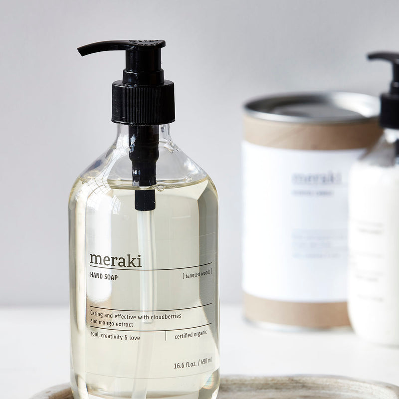 Meraki Tangled Woods Hand Soap | Design Vintage