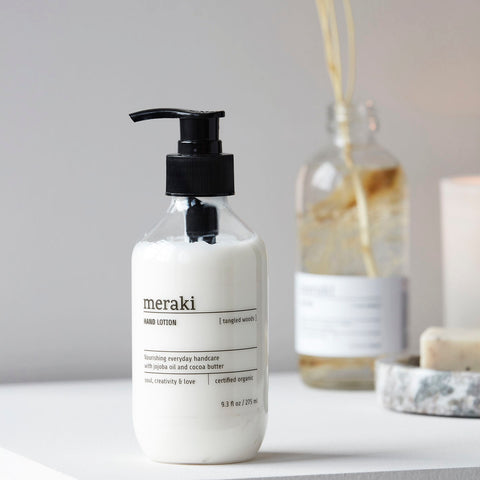 Meraki Tangled Woods Hand Lotion | Design Vintage