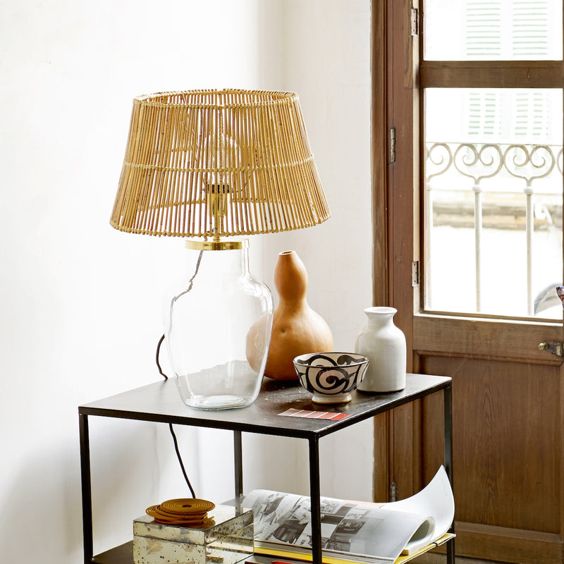 Medium Rattan Lampshade | Design Vintage