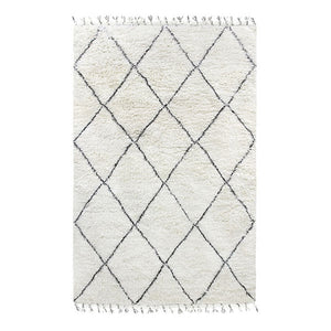 Handmade Diamonds Berber Rug | Design Vintage