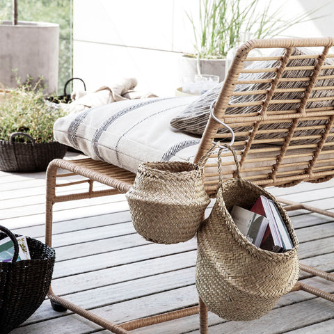 Wall Hanging Seagrass Baskets