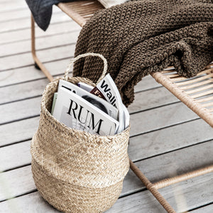 Wall Hanging Seagrass Baskets | Design Vintage